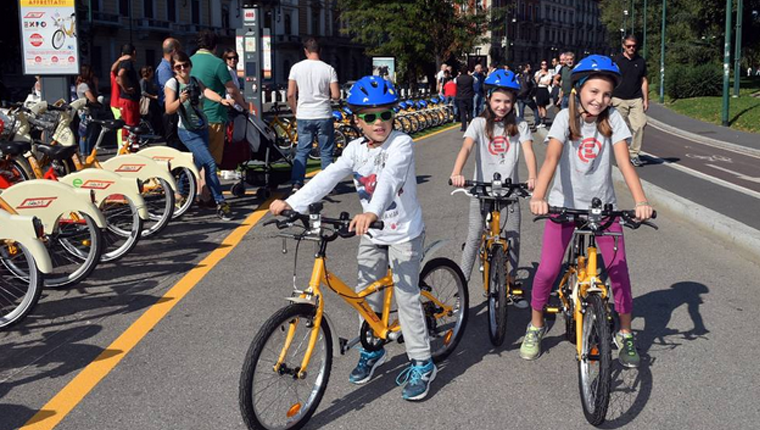 Bike sharing Junior Milano