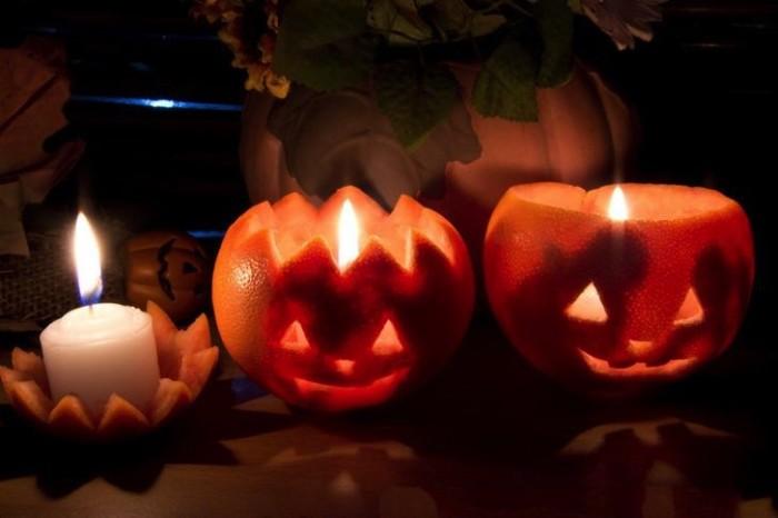 lanterne arance halloween