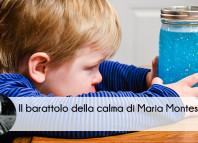 Barattolo Calma Metodo Montessori